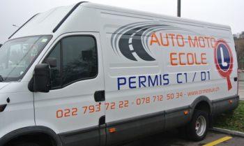 Iveco, permis de conduire C1 - D1 - Auto-Moto École des Ormeaux, Petit-Lancy, Genève